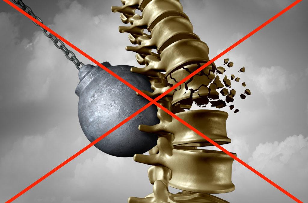 Les douleurs de dos ne sont pas synonymes de lésion